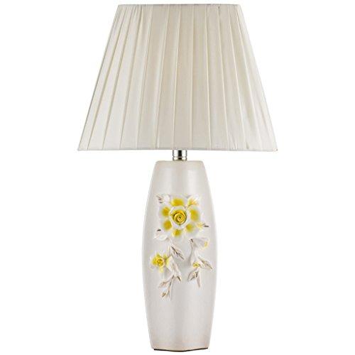 Luminaires & Eclairage-WXP Pastoral Sculpté En Céramique Lampe De Table Moderne Minimaliste Chambre Lampe De Chevet Lampe De Table De Mariage Mode Luminaires intérieur-WXP