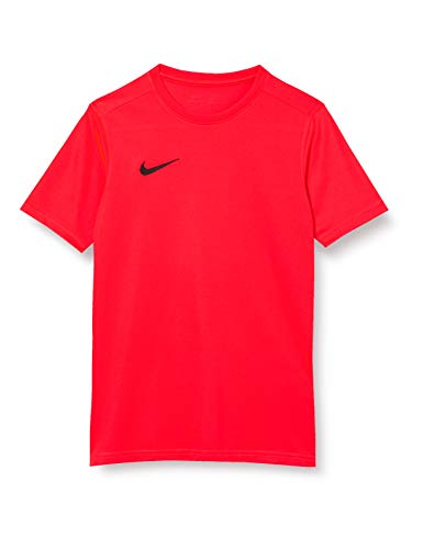 Nike Park VII Jersey SS Maillot Mixte Enfant, Bright Crimson/(Black), FR (Taille Fabricant : XL)