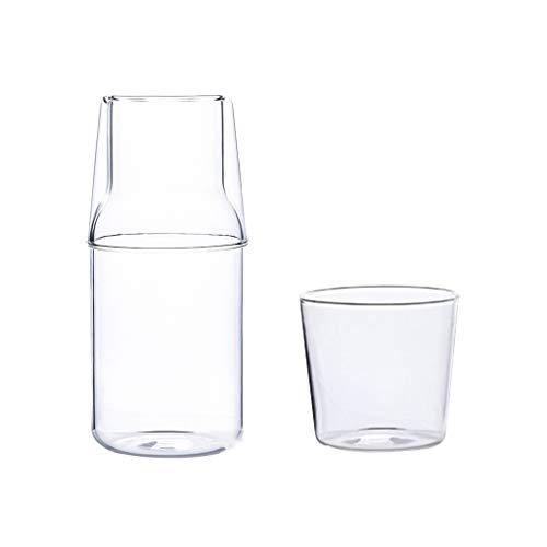 Jugo de recipientes for beber tazas de agua con vasos de vidrio reutilizables Copas de 2 pedazos de hielo Bebidas tazas de té y Hogar Cocina Entretenimiento (tamaño : B)