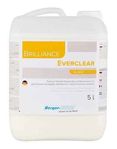 Berger-Seidle Everclear, L93, hochwertige Parkettpflege Pflegemittel Holz Parkett (5 Liter glänzend)