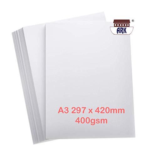 100 x A4 lisse blanche épaisse imprimante carte artisanat 300gsm