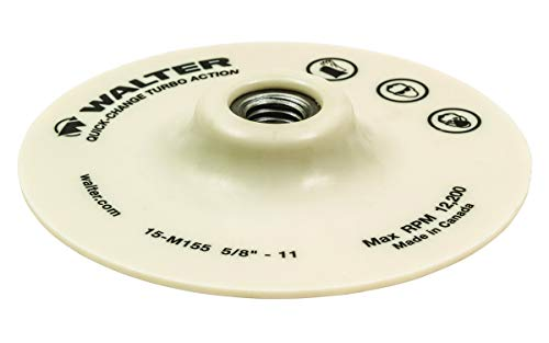 Walter Surface Technologies Quick Change Turbo PAD - for Sanding 5