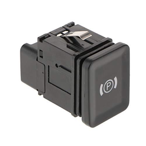 B Blesiya Botón de Control Del Interruptor de Estacionamiento de Automóviles