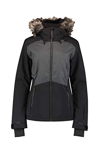 O'Neill Damen Halite Jacket Snow, Black Out, S