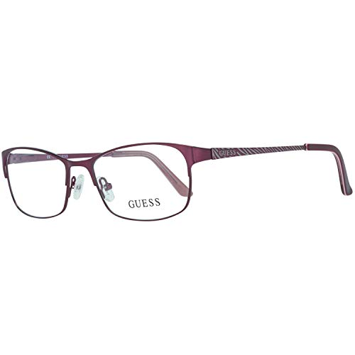 Guess Brille Gu2478 O24 52 Monturas de gafas, Morado (Violeta), 52.0 para Mujer