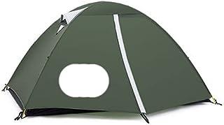 Ultralätt campingtält 3 säsong 2 personer uppgraderat 20D nylon silikonbelagt tyg vattentätt turist backpackingtält