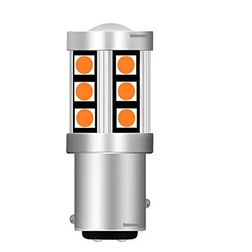 Luces $ luz 1 unids NUEVO 1157 de P21 / 5W de P21 / 5W de BAY15D 3030 LED Bombilla de freno de la cola de la cadera Lámpara de señal de giro AUTOMÁTICO AUTOMÁTICO DISTRISTIENTE CORREO LIGHT ROJO blanc