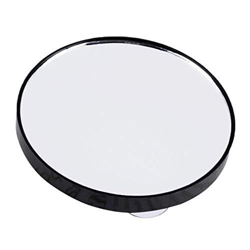 Fantasia 15X Olddreaming Miroir de maquillage 5 x 10 x 15 x Outil de maquillage avec deux ventouses Mini salle de bain rond pour la maison et les déplacements