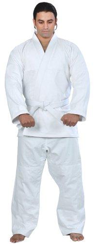 Woldorf USA BJJ Kimono Jiu Jitsu Judo Gi Student White Color 8 A6 NO Logo Martial Arts, Sparring Uniform, Fitness Uniforms, Grappling, Kickboxings, Fighting, Muay Thai TRAI