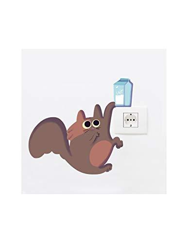 Sticker Prise ou Interrupteur : Chat
