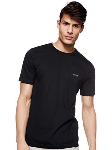 BOSS Green Tee, Camiseta Hombre, Negro (Black), Medium