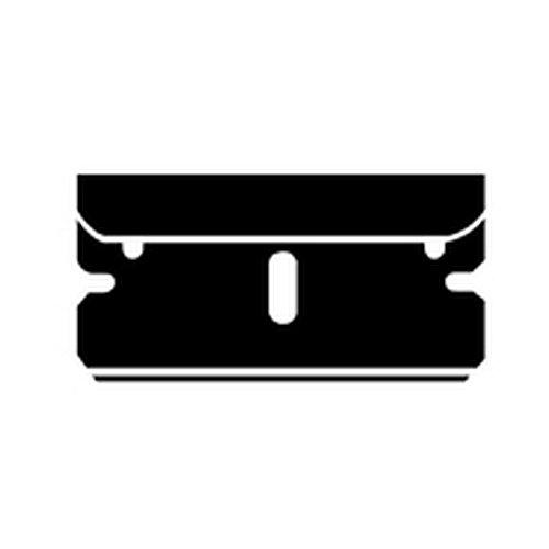 MARTOR Ersatzklingen zu Argentax- und Cleany-Schaber 1 VE = 10 Stück (Preis per VE) Sicherheitsmesser Zubehör Klingen mit abgerundeten Ecken