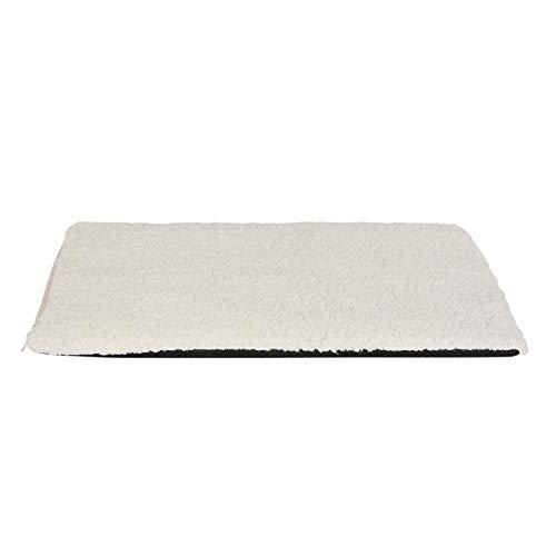 dibea WM00270 Wärmedecke für Haustiere Heizdecke für Hunde Wärmematte für Katzen selbstheizend, Einheitsgröße, weiß, 280 g