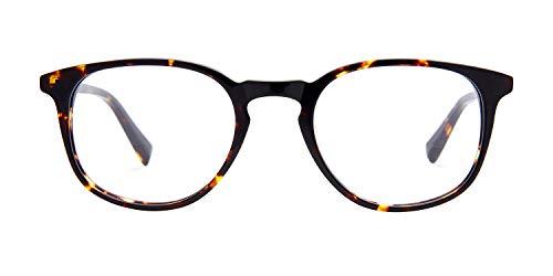 Baxter Blue Lane Maple Tortoise – Designer Rahmen Blaulicht blockierende Brille – Computerbrille, die durch unser Paar für ein Paar versprechen zurück gibt