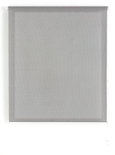 Uniestor S100 - Estor enrollable tipo screen, 160 X 180 cm, Marengo