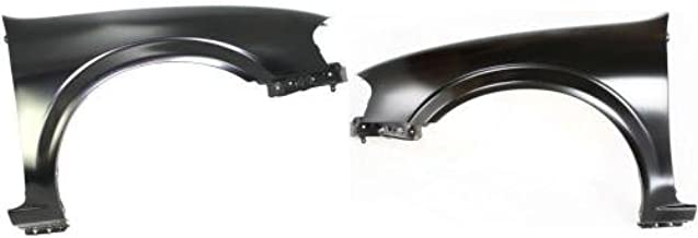 Go-Parts - PAIR/SET - OE Replacement for 2000-2001 Nissan Maxima Fender Left & Right (Driver & Passenger) NI1241166 NI1240166 63100-4Y935 63101-4Y935 Replacement For Nissan Maxima