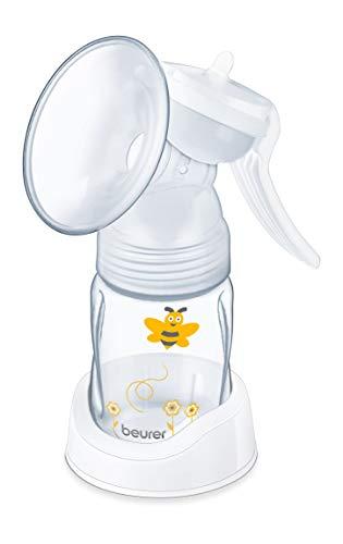 Beurer BY15 - Extractor de leche manual, color blanco