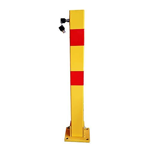 XGGYOOG Espesar Barrera de Estacionamiento de Acero, Barreras Para Parking de Plegable,...