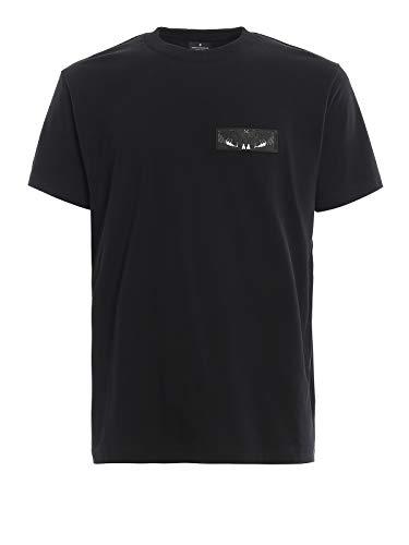 MARCELO BURLON Vleugels patch zwart T-Shirt Nero Uomo