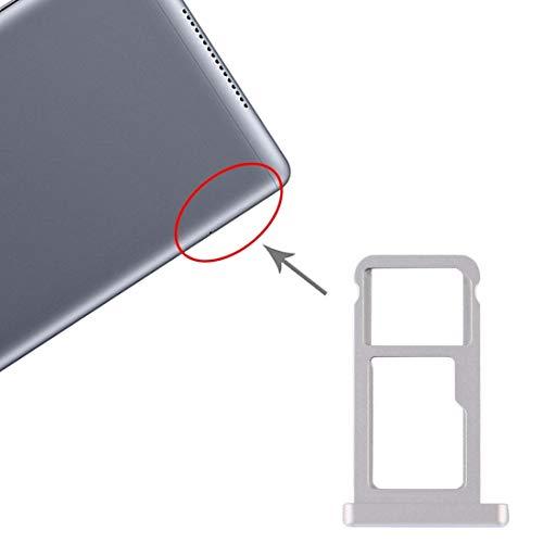 LIUXING La Bandeja de Tarjeta SD Bandeja de Tarjeta SIM Micro for Huawei MediaPad 10 M5 Tarjeta de Socket (Color : Blue)