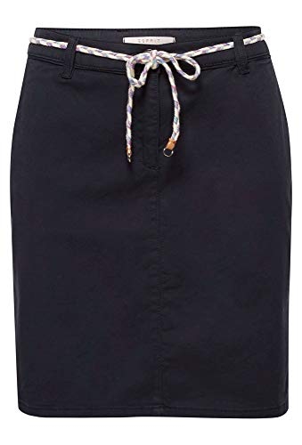 Esprit 049ee1d005 Falda, Azul (Navy 400), 38 (Talla del Fabricante: 36) para Mujer