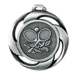 Deitert Medaille Tennis Ø 40mm mit Band Silber
