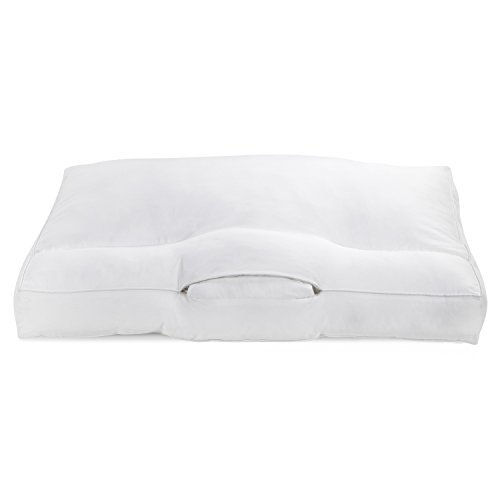 ORIGINAL Cervical pillow with PREMIUM memory foam for a DEEP, Happy SLEEP - like a baby! BETTER POSTURE Adjustable Neck Support for Neutral body Alignment, COMFY orthopedic pillow|Gift-FREE PILLOWCASE