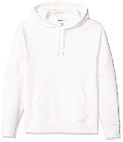 Amazon Essentials Hooded Fleece Sweatshirt Sudadera, Off White, M