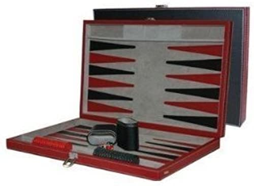 15  schwarz rot Backgammon Set by Flat River Group