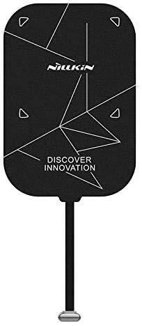 Nillkin Rápido Receptor de carga inalámbrico 2000mAh Qi Cargador inalámbrico Receptor Pad Módulo de parche Chip Compatible con iPad Pro 11 2018/2020,Huawei M6,Samsung TAB S3/S4/S5e/S6, Xiaomi Mi4 Plus