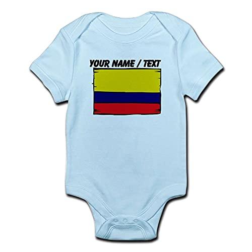 ABADI Body de bebé personalizado con bandera de Colombia