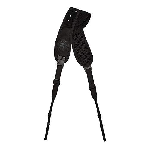 Crumpler verstelbare cameroriem zwart voor middelgrote camera's in sling-design