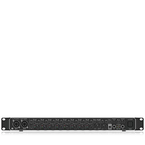 BEHRINGER U-Phoria UMC1820, Black, 8-Channel