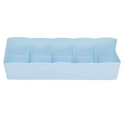 Divisor de cajones ecológico, duradero y confiable para el hogar 26,7 x 6,8 x 8 cm / 10,5 x 2,68 x 3,15 pulgadas(blue)