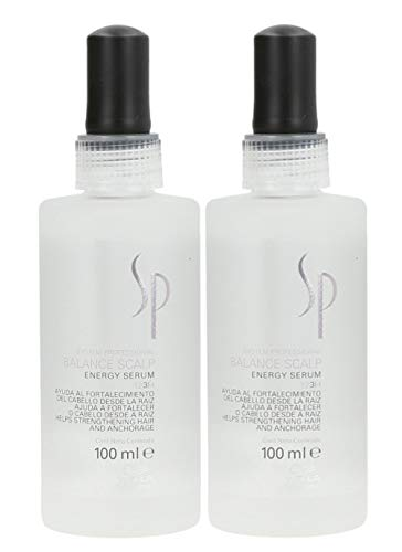Wella 2x SP System Professional Care Balance Scalp Energy Serum 100 Ml