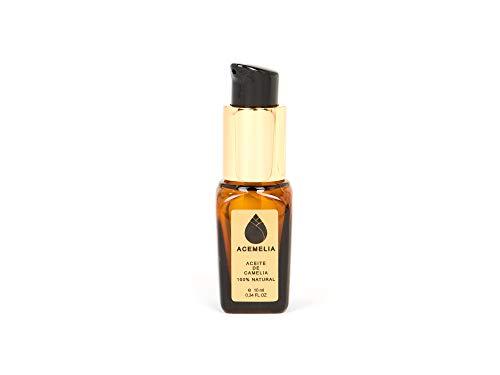 Olio di Camelia Puro prodotto in Europa - cosmetico naturale - il miglior olio di camelia - 10ml