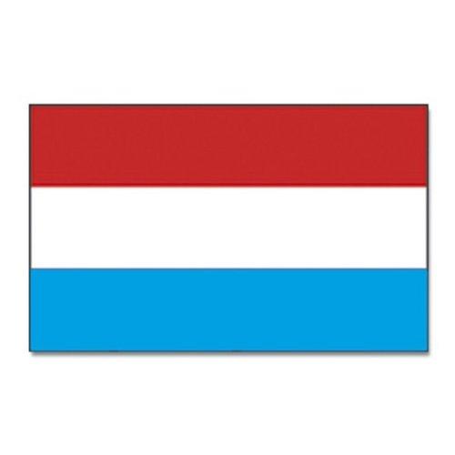 Qualitäts Fahne Flagge Luxemburg 90 x 150 cm mit verstärktem Hissband