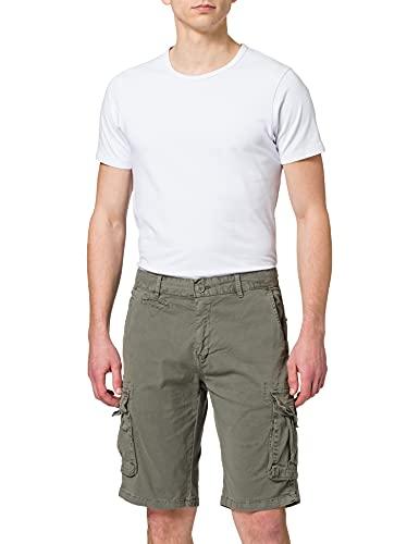 Inside @ 9CBE08 Pantalones Cortos Cargo, 60, 46 para Hombre