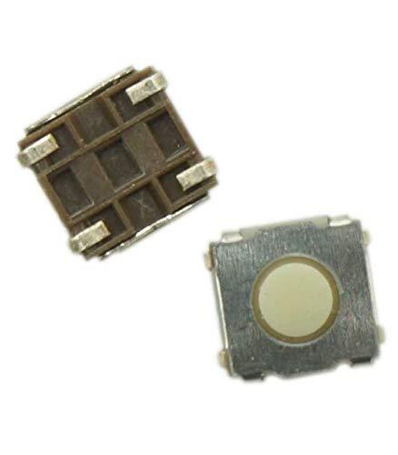 Botón pulsador Switch 4 pines cuadrado 6.6mm mando a distancia carcasa de llave