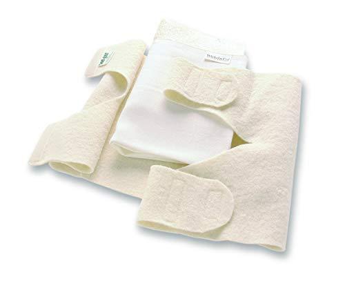 Kniebandage aus Wolle 77 x 23 cm - Schafschurwolle - Kniewickel