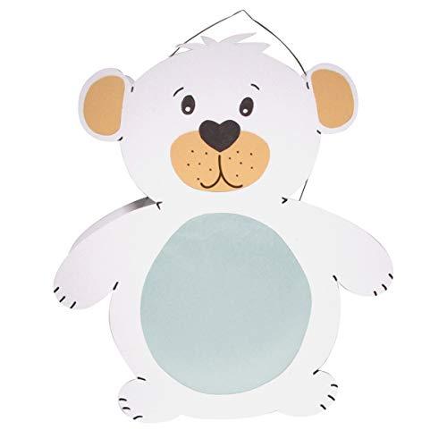 Prell Laternen Bastelset Eisbär, 1 Stück