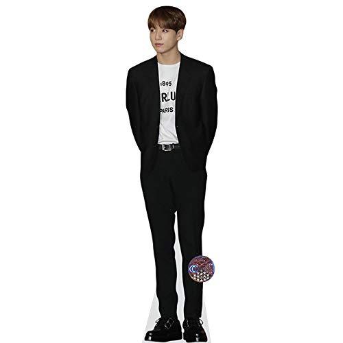 Celebrity Cutouts Jungkook (BTS) Pappaufsteller lebensgross