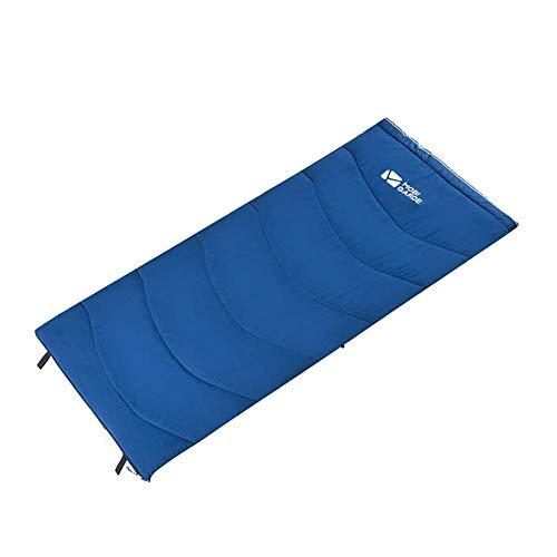CATRP Respirant Sacs De Couchage Portable Enveloppe Matelas Chaud Poids Léger Sac De Sommeil Épissé pour Le Camping Randonnée, 190X84cm