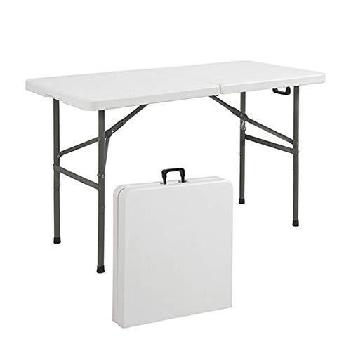 HXGL-Drum Mesa de Utilidad Plegable Multiusos de plástico portátil para Interiores y...