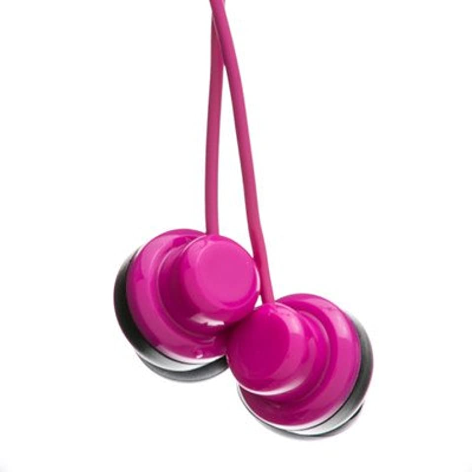 ストレスコレクション脆いピンクJVC Riptidz inner-earイヤホンヘッドフォン( 50パック) by NETCNA