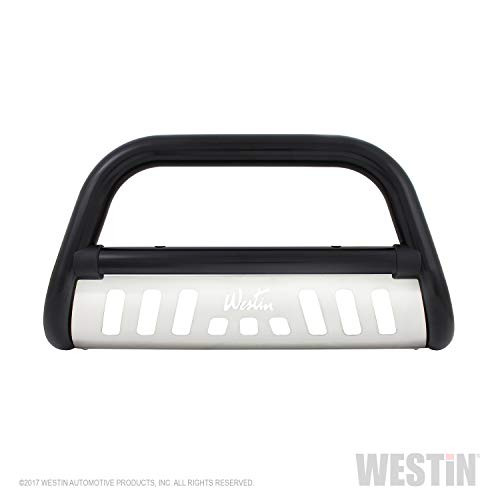 Westin 32-2255 Ultimate Black Powdercoated Stainless Steel Grille Guard