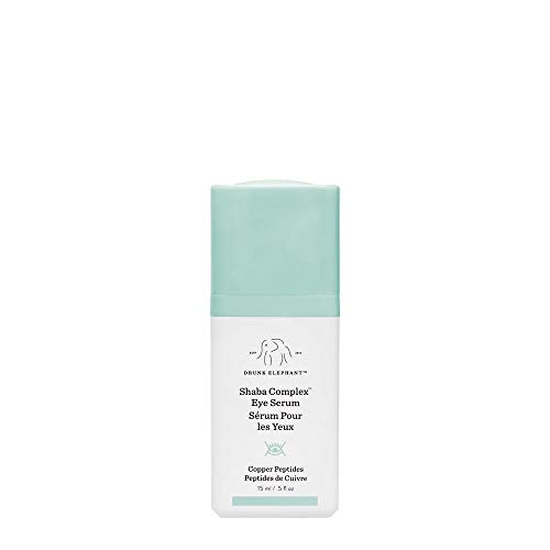 Drunk Elephant Shaba Complex Eye Serum - Anti Aging Wrinkle Serum for Dark Circles (15 Milliliters/ .5 Ounce)