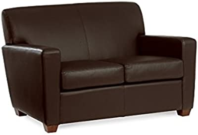 Enjoyable Amazon Com Distinct Faux Leather Modern Reception Sofa Alphanode Cool Chair Designs And Ideas Alphanodeonline