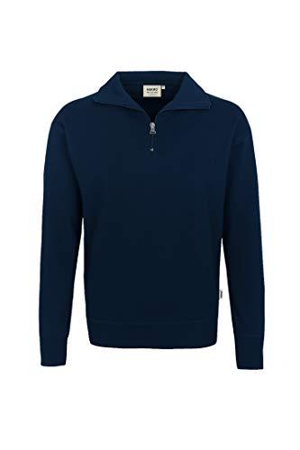 HAKRO Zip-Sweatshirt, dunkelblau, Größen: XS - XXXL Version: L - Größe L
