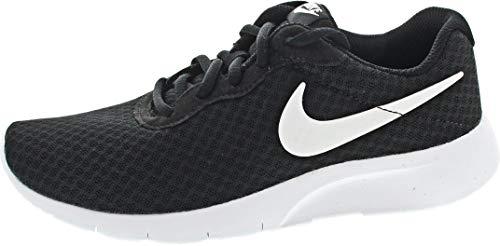 Nike Tanjun (GS), Gymnastics Shoe, Black/White-White, 38 EU